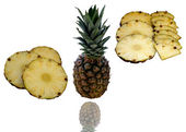 Sweet Pineapple just from tropics. — Stock Photo