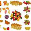 Tasty sweet fruit jelly. — Stock Photo #39140873