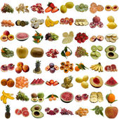 Fruits collection. — Stock Photo