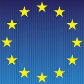 European flag. — Stock Vector