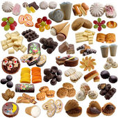Variety of sweet products. — Stock Photo