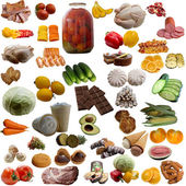 Food collection.  — Stock Photo