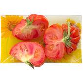 Dojrzałe pomidory. — Zdjęcie stockowe