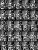 Buddha wall — Stock Photo