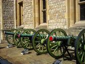 Green cannon — Stock Photo