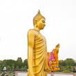 Stock Photo: Gold Buddhat Phutthamonthon in Thailand2