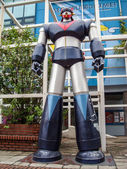 Big Model Great Mazinga in front of Seoul Cartoon museum and Ani — Stock Photo