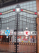 Paisley Gateway of Anfield stadium — Stock Photo