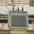 Electric transformers — Stock Photo