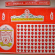 Hillsborough Memorial Mosaic — Stock Photo #24398079