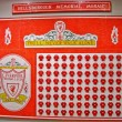 Hillsborough Memorial Mosaic - Stock Photo