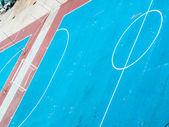 Football or futsal concrete ground — Stock Photo