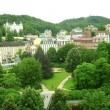 Panoramic view of Karlovy Vary - Foto Stock