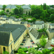 Panoramatic view of the Luxembourg - Foto Stock