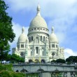 Royalty-Free Stock Photo: The Basilica of the Sacred Heart of Paris