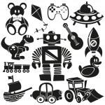 Vector Toys Set — Stock Vector #28090059