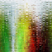 Wonderful abstract illustrated glass pattern — Stock Photo