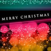 Wonderful Christmas background design illustration with bubbles — Stock Photo