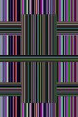 Wonderful abstract decorative stripe background design — Stock Photo