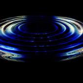Projeto de plano de fundo de onda ilustrado — Fotografia Stock