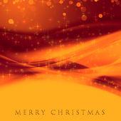 Fantastische weihnachten welle design mit schneeflocken und sternen — Stockfoto