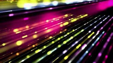 Powerful technology light video animation, loop HD 1080p — Stock Video
