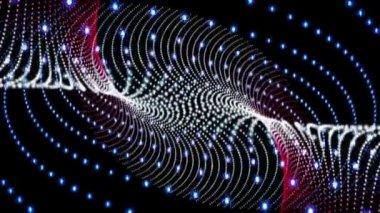 Meraviglioso video di animazione con le bolle, in movimento ciclo hd 1080p — Video Stock