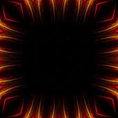 замечательные абстрактные иллюстрированное стекло объект — Стоковое фото