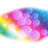 Abstract powerful bubble background — Stock Photo