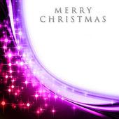 Onda navidad fantástico diseño con estrellas brillantes — Foto de Stock