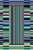 Wonderful abstract decorative stripe background design — Stock Photo