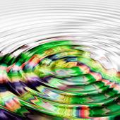 Wonderful illustrated wave background design — Stock Photo