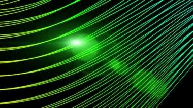 Futuristiska video animation med rörliga stripe objekt och ljus, slinga hd 1080p — Stockvideo
