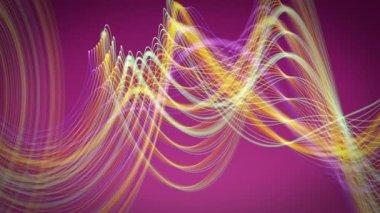 şerit nesne hareket ile fantastik video animasyon döngüsü hd 1080p — Stok video