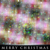 Wonderful Christmas background design illustration with stars and lights — Photo