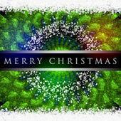 Prachtige Kerstmis achtergrond ontwerp illustratie met sneeuwvlokken — Stockfoto