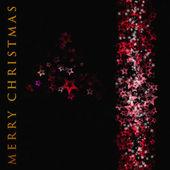 漂亮的圣诞树设计插图 — 图库照片