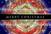 Wonderful Christmas background design illustration with stars and snowflakes — Stock Photo