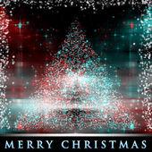 Arbre de Noël merveilleux fond illustration de la conception — Photo