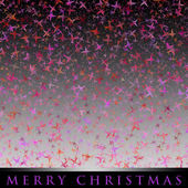 Wonderful Christmas background design illustration with glowing — Stock Photo