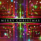 Prachtige Kerstmis achtergrond ontwerp illustratie met sterren — Stockfoto