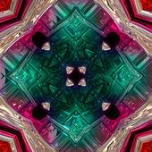 Abstrakte illustrierte glas hintergrundmuster — Stockfoto