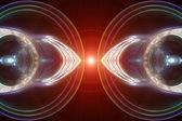 футуристические технологии фона дизайн — Стоковое фото