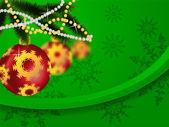 Nový rok a vánoce — Stock vektor