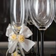 Stock Photo: Wineglasses