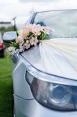 Cars for a wedding — Stock Photo