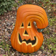 Stock Photo: Ceramic Pumpkin