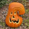 Ceramic Pumpkin — Stock Photo