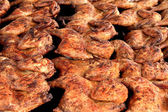 Barbecue Chicken Closeup — Stock Photo