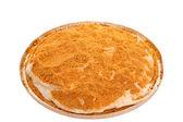 Homemade Graham Cracker Cream Pie — Stock Photo